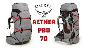 osprey pack aether pro 70 2018
