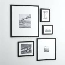 11x14 frame with 8x10 mat black picture frames white matting stupefy 5 piece matte set crate