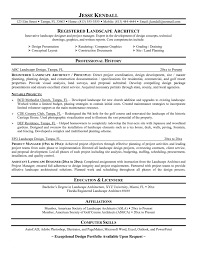 Resume For Architects Professionals Architect Resume Template