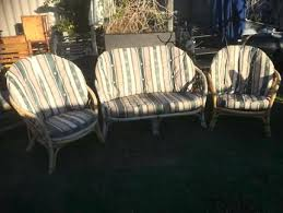 gumtree outdoor lounge old cane 3 piece outdoor lounge gumtree outdoor furniture brisbane