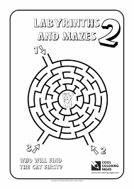Cool Coloring Pages Labyrinths And Mazes Cool Coloring Pages