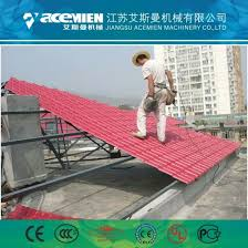 easy installation pvc colored corrugated roofing tiles sheet machine