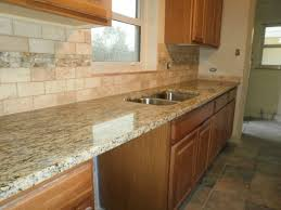 Travertine Kitchen Backsplash Surprising Tumbled Travertine Subway Tile Backsplash Pictures