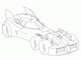 Batmobile Coloring Pages High Quality Coloring