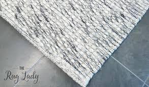 felted wool rug oskar felted wool striped rug grey