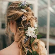 Flower Hair Style elsa flower hair vine by gypsy rose vintage notonthehighstreet 3428 by wearticles.com