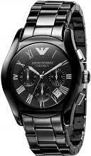 """ceramic watches watch shop comâ""""¢ mens emporio armani ceramic chronograph watch ar1400"""