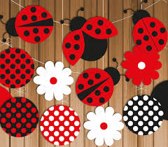 Ladybug Bedroom Red Nursery Beach Style Nursery In White With Wallpaper That