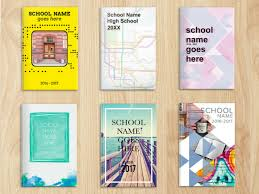 art cover page ideas 7 high school yearbook themes that are ready to use