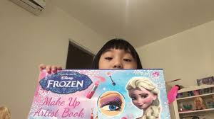 using frozen make up artist book