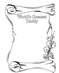 free collection of 40 fathers day cards coloring pages