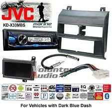 jvc kd avx33 jvc no cd player blue gm truck car stereo radio install package harness marine