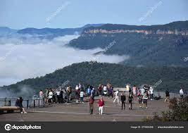 Katoomba Australia March 2019 People ...