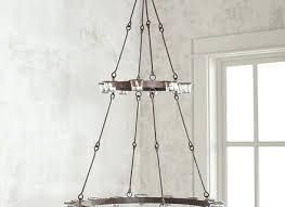 rectangular candle chandelier diy outdoor wonderful non electric chandeliers hanging