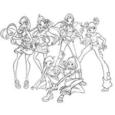 Small Picture Top 10 Free Printable Winx Club Coloring Pages Online