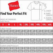 Hanes Boxers Size Chart Hanes Tagless Tee Size Chart Facebook Lay Chart