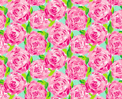 Lilly Pulitzer Fabric Lilly Pulitzer Floral Pink And Green Print Background Iphone