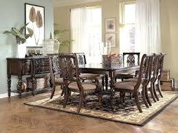 ashley furniture dining table 8 chairs medium size of discontinued furniture dining sets round dining table