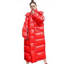 winter down jacket womens x long jackets thick cotton outerwear warm parka loose plus size winter coat women best popular nj033