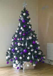 christmas trees decorated purple. Purple Christmas Tree Decorations Source Inside Trees Decorated