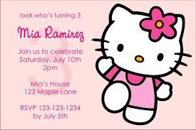 Hello Kitty Party Invitation Hello Kitty Invitations Pink Power Click To Personalize