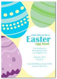 Printable Easter Hunt Invitation Template