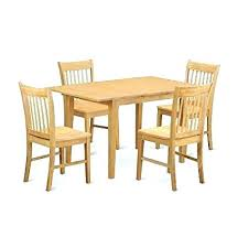 east west furniture dining set east west furniture c 6 piece dining table and 4 chairs