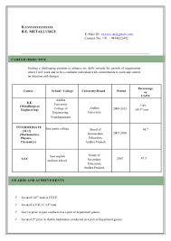 Resume Model Free Resume Example And Writing Download
