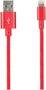 Купить Кабель <b>Prolife</b> NL USB-<b>Apple Lightning 8pin</b> красный ...
