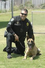 Animal Cop Cop By Day Family Dog By Night Meet Dusty The San Diego K 9