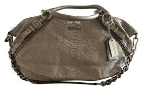 Coach Satchel in Taupe ...