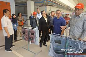 asia pacific tech voc organization visits toyota
