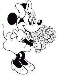 Minnie Da Stampare A Colori Playingwithfirekitchencom
