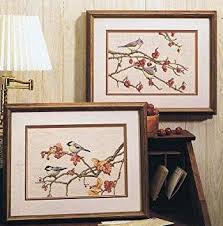 Birds Of A Feather Cross Stitch Chart 2 Designs Amazon Co