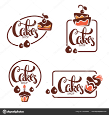 Bakery Pastry Confectionery Cake Dessert Sweets Shop Vecto