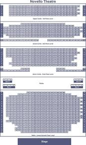 Novello Theatre Seating Chart Novello Theatre Arctix Tickets