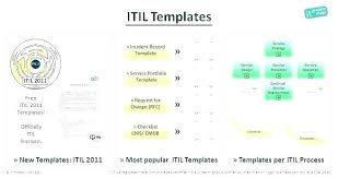 Excel Temp Service Itil Service Catalog Template Services Catalogue Examples