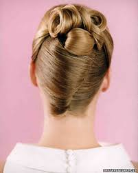 French Twist Hair Style wedding hairstyles martha stewart weddings 5616 by stevesalt.us