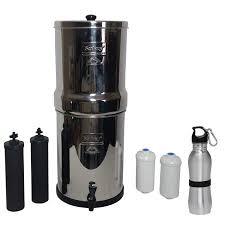 Royal berkey water filter Crown Departments Walmartcom Royal Berkey Water Filter Gallon System Bundle Black Bb9