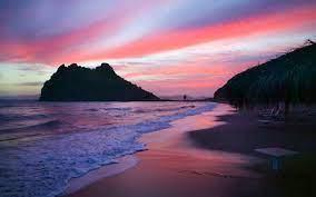 pink beach Desktop wallpapers 1280x800