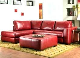 red leather sectional sofas with chaise couch stylish modern microfiber cherry sofa sectio
