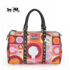 Quick View · Coach Poppy Stud Medium Multicolor Luggage Bags Outlet Sale  VIP Shop ...