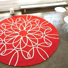 circular area rug unique large round rugs ribbon rug in red and white oval circle extra circular area rug large