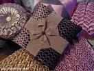 Выкройка подушки с буфами