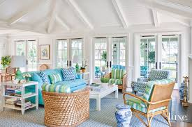 Palm Beach Designer Fabrics A Florida Home With Water Views Gets A Cheerful Look Luxe