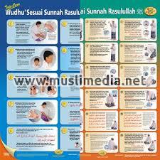 Gambar animasi orang wudhu hd terbaru. Poster Tata Cara Wudhu Shalat Sesuai Sunnah Rasulullah Pustaka Ibnu Katsir Muslimedia Net
