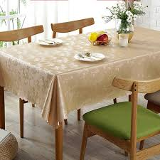 square tablecloth flower pu leather europe desk cloth home kitchen table cloths waterproof oilproof hotel