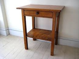 sidetables shaker bedside table farmhouse chairs style plans