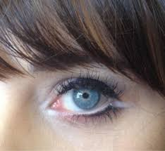 a close up of zooey deschanel s eye from makeup artist jorjee dougl s page it reminds me of lisa eldridge s marilyn monroe makeup tutorial which