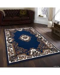 spectacular deal on allstar rugs hand woven blue brown area rug inside 5x7 ideas 19